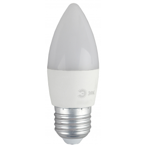 ECO LED B35-8W-840-E27 ЭРА (диод, свеча, 8Вт, нейтр, E27) (10/100/3500)