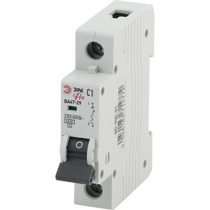 ЭРА Pro Автоматический выключатель NO-900-07 ВА47-29 1P 5А кривая C (12/180/3780)