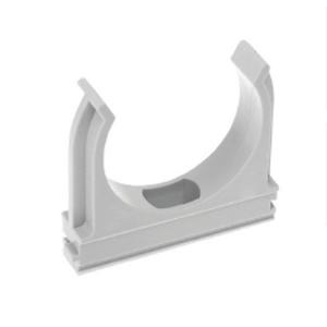 ЭРА Крепеж-клипса ЭРА (cерый) для трубы d 32мм (50/600/14400)