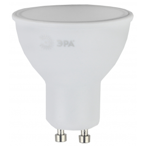 LED MR16-10W-840-GU10 ЭРА (диод, софит, 10Вт, нейтр, GU10) (10/100/4000)