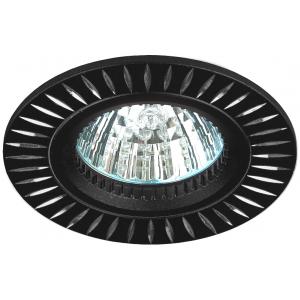 KL31 AL/BK Светильник ЭРА алюминиевый MR16,12V/220V, 50W черный/серебро (50/2000)