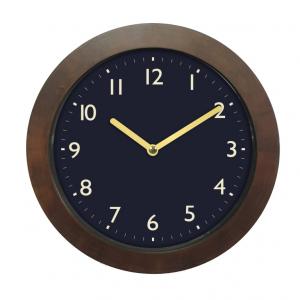 Innova Часы W09652, материал древесина, диаметр 29 см, цвет корич/синий (12/144)