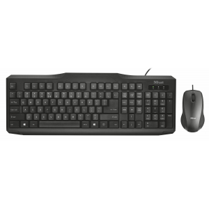 21909 Кл+мышь Trust CLASSICLINE WIRED KEYBOARD AND MOUSE (10/120)