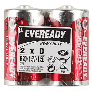 Energizer Eveready R20 Heavy Duty NEW (24/192/4608)