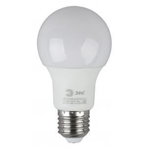 ECO LED A60-6W-827-E27 ЭРА (диод, груша, 6Вт, тепл, E27) (10/80/1600)