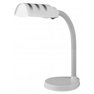 ЭРА наст.светильник NE-302-E27-15W-W белый (18/72)