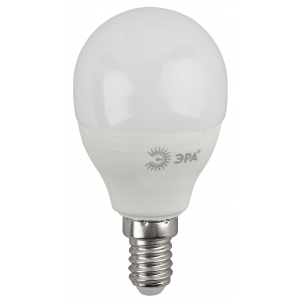 ECO LED P45-10W-827-E14 ЭРА (диод, шар, 10Вт, тепл, E14) (10/100/2800)
