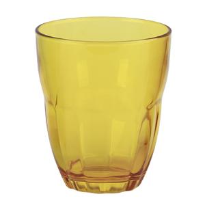 Bormioli Rocco Набор из 3-х стаканов Ercole 230 мл, желтые, открытая цветная упаковка (6/390)