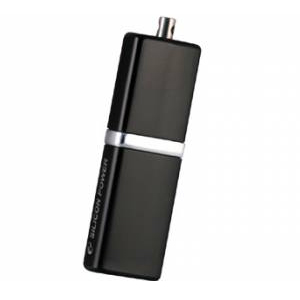 Флэш-диск Silicon Power 08 Gb LuxMini 710 Black (20/2000)