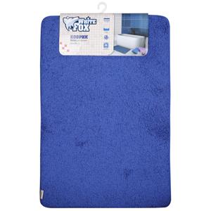 WBCH10-291 White Fox Коврик Relax, с ворсом 1,3 см, синий 60*90см (10/50)