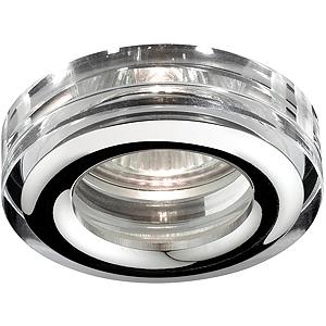 WR3 CH/SL Светильник ЭРА влагозащищенный MR16,12V/220V, 50W  хром/серебро (30/1260)