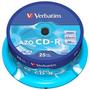 43432 Verbatim CD-R 700mb, 52x, Сake (25)* (25/200/12000)
