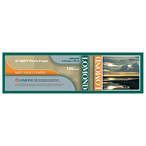 1202025 Lomond Матовая бумага для САПР и ГИС 120 г/м2 (610 x 30 x 50,8),для ч/б и цв. печати. (60)