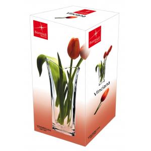 Bormioli Rocco VINCIANA ваза для цветов 23 см. (6/360)