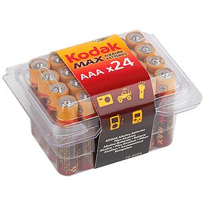 Kodak MAX LR03-24 plastic box  [24 3A PVC] (24/480/33600)