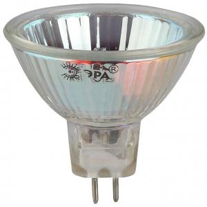GU5.3-JCDR (MR16) -75W-230V-CL ЭРА (галоген, софит, 75Вт, нейтр, GU5.3) (10/200/6000)