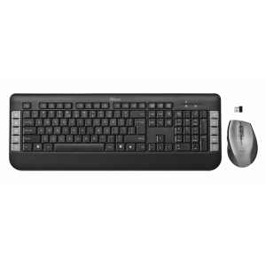 18048 Кл+мышь Trust Tecla Wireless Multimedia Keyboard&Mouse (10/120)