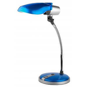 ЭРА наст.светильник NE-301-E27-15W-BU синий (12/72)