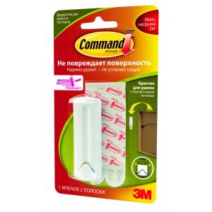 Command 17041 Легкоуд. крючок д/ РАМОК с верев.петл. до 2кг, 1шт (36/2160)