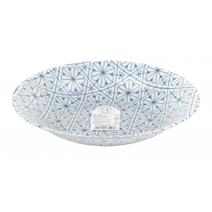 B430132-1 Bormioli Rocco Тарелка суповая 23 см, MAIOLICA BLUE (18/810)
