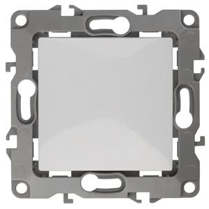 12-1101-01 ЭРА Выключатель, 10АХ-250В, IP20, Эра12, белый (10/100/3200)