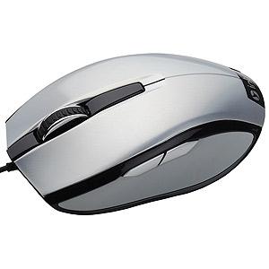 MU104 silver Мышь_25 Intro silver USB (20/40/800)