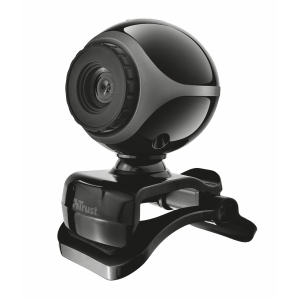 17003 Веб/к Trust Exis Webcam Black/Silver (20/360)