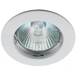 KL1 WH Светильник ЭРА литой простой MR16,12V, 50W белый (100/3000)