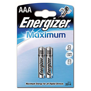 Energizer LR03-2BL Maximum (2/24/17760)