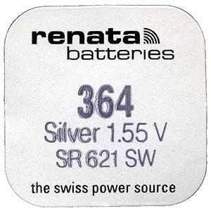 Renata R364 SR621 SR60 (10/100/10500)
