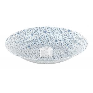 Bormioli Rocco Тарелка суповая 23 см, MAIOLICA BLUE (18/810)