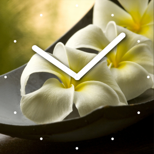 "Innova Часы W09665 ""Цветы"", квадратные, стекло, размер 30*30 см (10/120)"