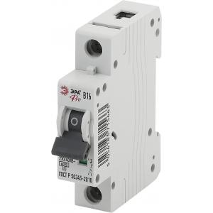 ЭРА Pro Автоматический выключатель NO-901-60 ВА47-63 1P 16А кривая B (12/180/3780)