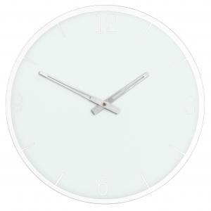 Innova Часы W09656, муранское стекло, диаметр 35 см, цвет белый (6/108)