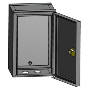 ЭРА ЩУ-МП (295х190х110) с окном и кронштейном для крепления (128)
