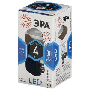 LED R39-4W-840-E14 ЭРА (диод, рефлектор, 4Вт, нейтр, E14) (10/100/4200)