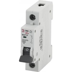 ЭРА Pro Автоматический выключатель NO-900-01 ВА47-29 1P 1А кривая C (12/180/3780)