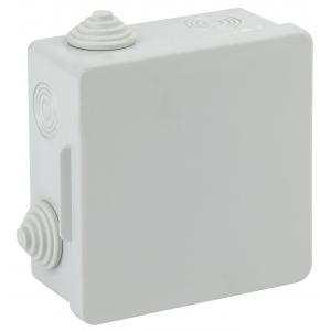 ЭРА Коробка распаячн. открытой установки КОР 100х100х50мм с гермовводами 8 вх. IP54 (60/960)