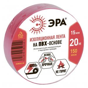 43720/43713 ЭРА ПВХ-изолента 15мм*20м красная (10/200/8000)