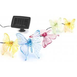 SL-PL600-BTF2 ЭРА Садовый светильник на солнечной батарее, пластик, прозрачный, длина гирлянды - 600