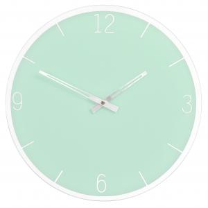 Innova Часы W09654, муранское стекло, диаметр 35 см, цвет зеленый (6/108)