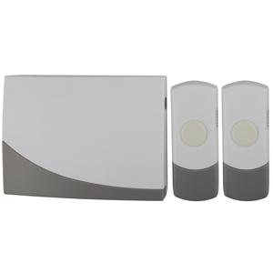 Звонок ЭРА C91-2 беспроводной, две кнопки (нов.упак) (10/60/480)