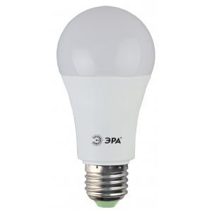 LED A60-15W-840-E27 ЭРА (диод, груша, 15Вт, нейтр, E27), (10/100/1200)