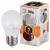 LED P45-7W-827-E27 ЭРА (диод, шар, 7Вт, тепл, E27), (10/100/3600)