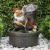 GANF-01 GREEN APPLE Настольный фонтан Гном Дачник 25 cм (8/32)
