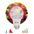 ЭРА Лампа красно-синего спектра FITO-14W-RB-E27-K (12/36/1728)