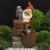 GAUF-01 GREEN APPLE Уличный фонтан Гном с лейкой 60 см (12)