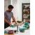 Bormioli Rocco FRIGOVERRE Контейнер круглый D23 см (3100 мл) с  крышкой (4/168)