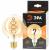 Лампочка светодиодная ЭРА F-LED F-LED G95-7W-824-E27 spiral gold E27 / Е27 7Вт филамент шар золотистый теплый белый свет