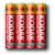Kodak R03-4S EXTRA HEAVY DUTY [K3AHZ 4S] (40/200/57600)